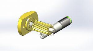 Um die Pendel nach dem Aufbau ins Gleichgewicht zu bringen, wird je eine bewegliche Masse auf den Pendeln soweit verschoben, bis diese perfekt ausbalanciert sind. Bild: Streckeisen