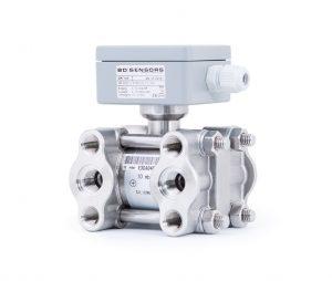 Der Differenzdruckmessumformer DPT 100 wurde speziell für schnelle Prüfprozesse im Bereich der Leckage- und Durchflussmessung konzipiert, bei denen eine kurze Anstiegszeit und hohe Abtastrate notwendig sind. Bild: BD|SENSORS