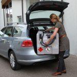 Die KS Mobil Baureihe aus leichtem, elektrisch leitfähigem hochvernetztem Polyethylen zum Schutz vor statischen Aufladungen ist einfach im Handling. Bild: CEMO