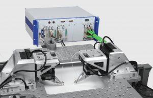 Industriegerechtes Komplettsystem fürs Wafer-Probing in der Siliziumphotonik. Bild: PI