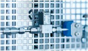 Magnetventil zur Gasverteilung im Labor. Bild: Bürkert