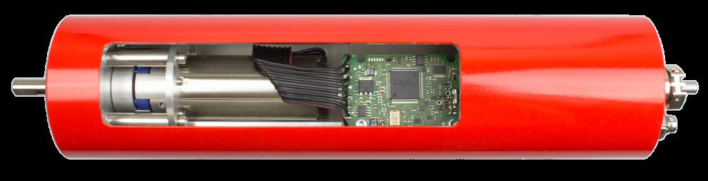 In dieser Systemlösung wurde ein bürstenloser DC-Servomotor samt passendem Motion Controller in einem speziellen Gehäuse untergebracht und so eine ATEX-zertifizierte Lösung als Antrieb für Mikrozahnringpumpen für die Verfahrenstechnik entwickelt. Bild: Mattke