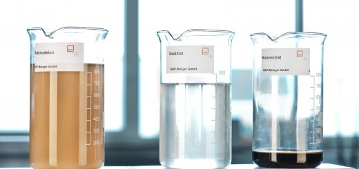 Mit den Verdampfern lassen sich bis zu 95 % der Entsorgungskosten einsparen. Die modular aufgebauten Geräte eignen sich für nahezu alle Prozessmedien. Bild: Bürkert