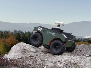 Kompaktes und robustes Teleskopsystem, das sich für unbemannte Fahrzeuge im harten Außeneinsatz eignet. Bild: progenoX