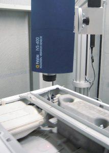Das IVS Industrie-Vibrometer liefert die Grundlage für eine schnelle und effiziente vibroakustische Güteprüfung. Bild: Polytec und Loccioni