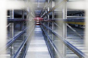 Automatische Lagerung im Kälteautomat. Bild: Coop