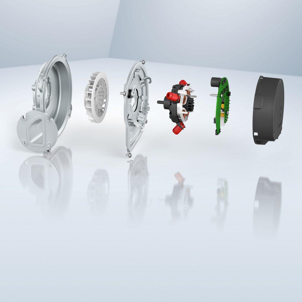 Der modulare Aufbau erleichtert kundenspezifische Lösungen auf der Gehäuseseite. Bild: ebm-papst