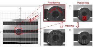 Die intuitive Menüführung der SpeedMark-Software ermöglicht dazu die komfortable Einstellung der Laserparameter auf das Material und das gewünschte Markierungsergebnis. Bild: Trotec