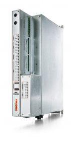 Ultraschall-Generator für einfache und komplexe Schneidaufgaben. Über alle gängigen Feldbusschnittstellen kommuniziert er mit der übergeordneten Steuerung. Bild: Telsonic