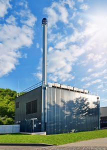 Kompakte Nahwärmezentralen vor Ort sind für große Gebäude und Wohnviertel gleichermaßen eine ökologische Lösung. Bild: Petair / fotolia.com