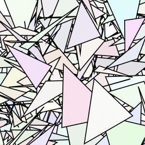 Tracking von künstlichen Merkmalen mit Markierungen in Form von Bildern mit Dreiecken zufälliger Größe, Anordnung und Rotation ermöglicht den Abgleich von realen und virtuellen Informationen. Bild: Rösberg