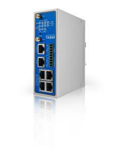 Ein Feature des TK800 Router: Die exakte Signalstärke lässt sich im Browser einsehen und damit können Richtantennen optimal eingestellt werden. Bild: Welotec