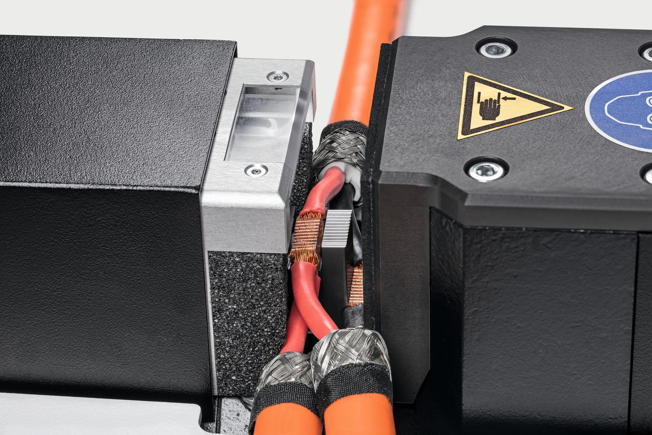 Beim Ultraschallschweißen entstehen hochfeste Verbindungen mit sehr guter elektrischer Leitfähigkeit. Bild: Telsonic