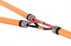 Schweißverbindung bei einem Hochvolt-Kabel. Bild: Telsonic