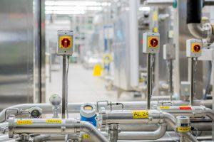 Um den Mitarbeiterschutz bei Wartungs-, Reparatur- und Reinigungsarbeiten weiter zu verbessern, war ein Upgrade des Sicherheitssystems gewünscht. Bild: Bürkert