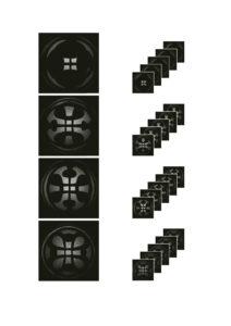 Die einzelnen Interferenzmuster werden zu einem Muster zusammengerechnet. Bild: Mahr