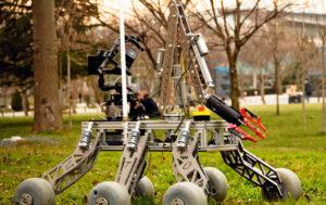 Studierende der Istanbul Technical University (ITU) haben den Prototyp eines Marsrovers realisiert, in dem gleich mehrere Kleinstantriebe eingesetzt sind. Bild: ITU