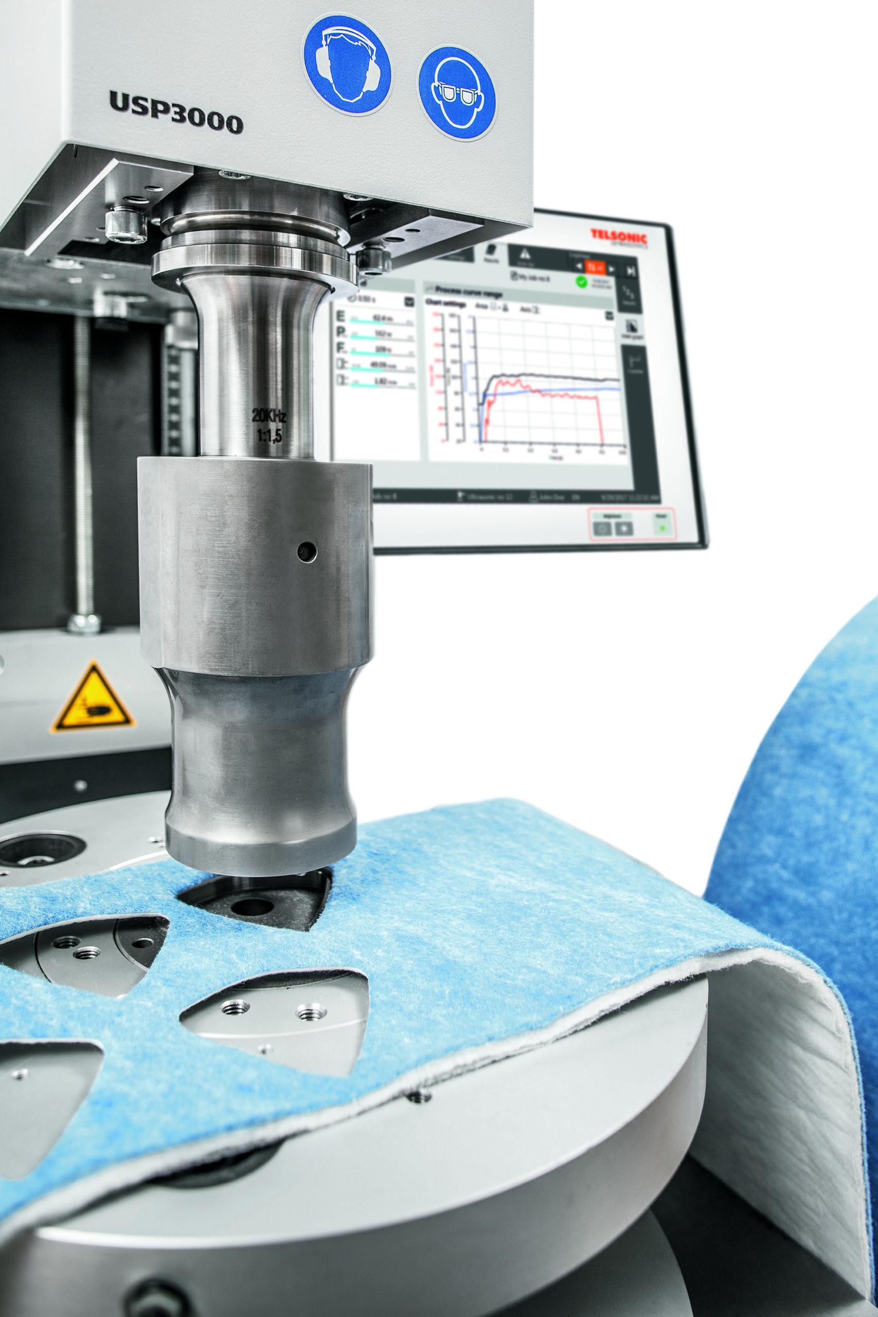 Trennschweißen mit Ultraschall hat sich heute in vielen Branchen als wirtschaftliche und schonende Verfahren mit hohem Qualitätsansatz bewährt. Bild: Telsonic