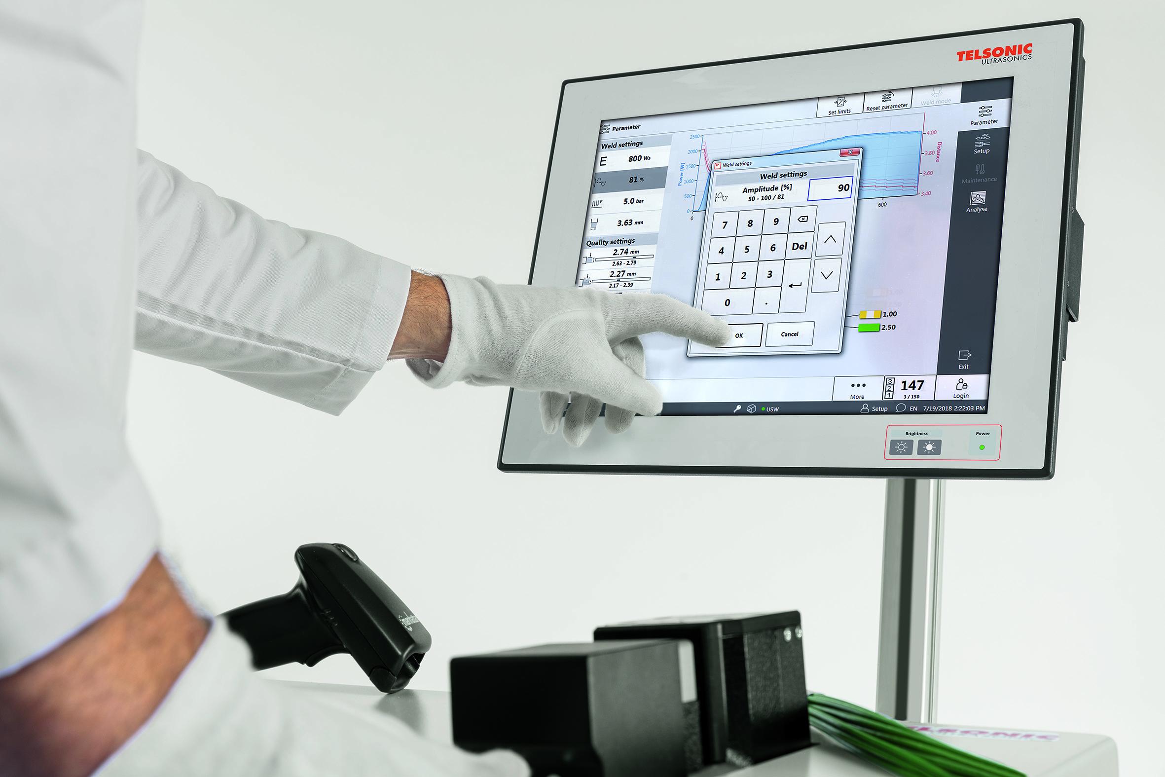 Die Steuerungs- und Bediensoftware TelsoSplice V4 bietet zukunftssichere Integrations- und Vernetzungsmöglichkeiten und lässt sich intuitiv bedienen. Bild: Telsonic