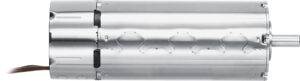 Bürstenloser DC Servomotor Serie 2368...BX4 mit 32mm Durchmesser, 85,4 mm Länge und maximalem Drehmoment von 99 mNm. Bild: Faulhaber