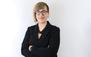 Nadine Schmetzer, Forschung und Entwicklung Blechfügetechnik bei Arnold Umformtechnik. Bild: Arnold Umformtechnik
