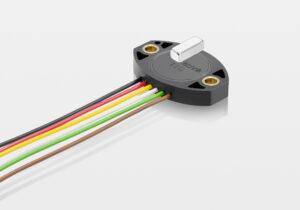 Mit dem entsprechenden Positionsgeber eignet sich der Sensor in der Variante TFD-4000 auch für lineare Wegmessungen. Bild: Novotechnik