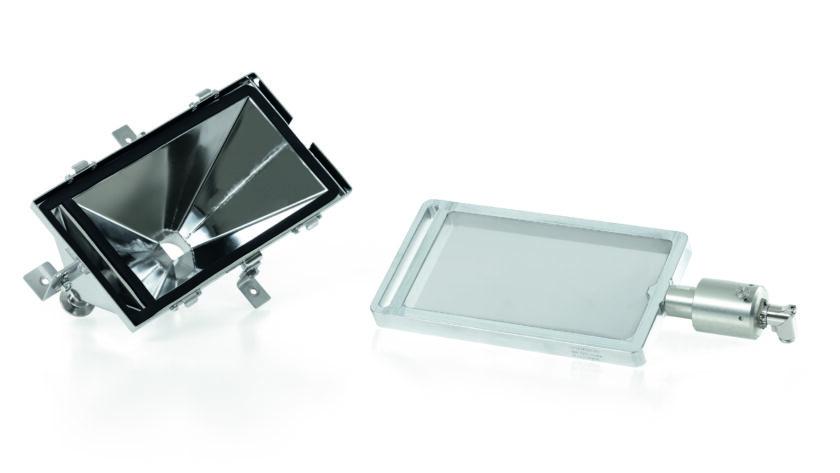 Pulverwiederaufbereitung im 3D-Druck: Ultraschall-Systeme regen feinste Siebgewebe an, erhöhen Durchsatzmengen oder verbessern dank der permanenten Abreinigung des Siebes die Trennschärfe des Siebgutes. Bild: Telsonic
